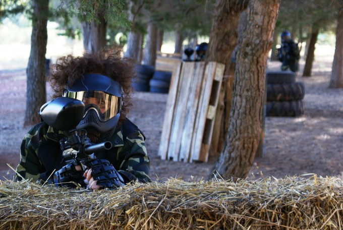 Campo de paintball propio